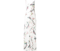 - Maxikleid mit floralem Print aus Seide - women