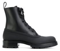 spat detail boots