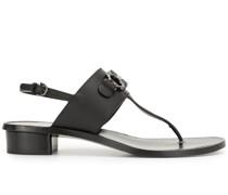 Sandalen mit Gancini-Detail