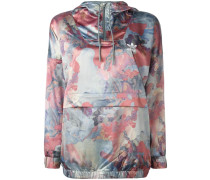 pastel camouflage print jacket