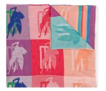Schal mit Pegasus-Print