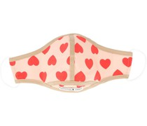 Mundschutz mit Herz-Print