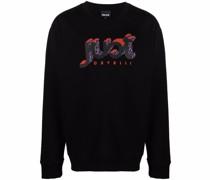 Sweatshirt mit 3D-Logo