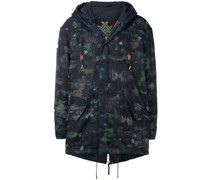 Parka in Distressed-Optik