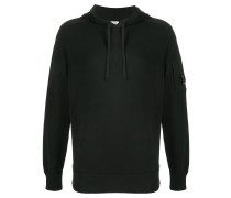 drawstring fitted hoodie