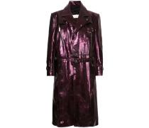 Meta Pierced trench coat