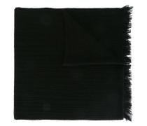 fringed trim scarf