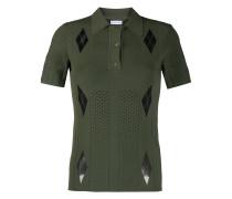 Perforiertes Poloshirt