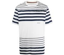Oversized-T-Shirt mit Streifen