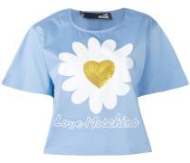 T-Shirt mit Paillettenherz - women