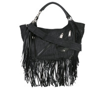 - Babe Wire fringed hobo bag - women