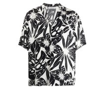 Hemd mit botanischem Print