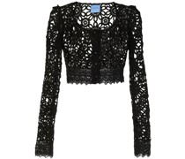 Noble broderie anglaise blouse