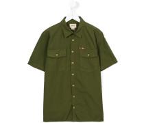 Hemd mit kurzen Ärmeln - kids - Baumwolle - 14
