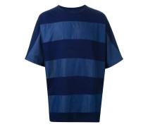 T-Shirt in Oversized-Passform mit Streifen