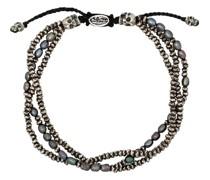 Sterlingsilber-Armband mit Perlen