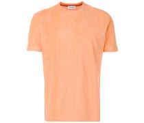 T-Shirt in Frottee-Optik