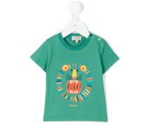 T-Shirt mit Löwen-Print - kids - Baumwolle - 18