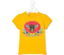 bee print T-shirt