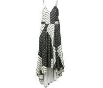 Camisole-Seidenkleid mit geometrischem Print