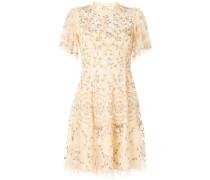 Minikleid aus floraler Spitze