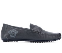 Loafer mit Medusa-Stickerei