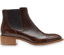 Chelsea-Boots mit eckiger Kappe