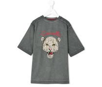 T-Shirt mit Leoparden-Print - kids