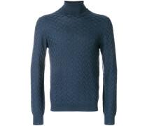 'Dolcevita' Sweatshirt mit Rollkragen