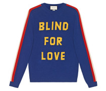 """""""Blind for Love"""" and tiger wool sweater"""