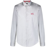 Button-down-Hemd mit Logo