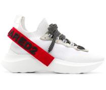 Sock-Sneakers mit Plateau, 45mm
