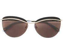 Tiffany & Co. Cat-Eye-Sonnenbrille mit goldfarbenen Details