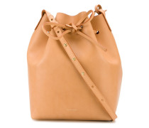 drawstring bucket cross body bag