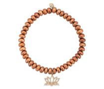 14kt Gelbgoldarmband mit Perlen