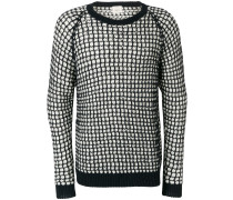 knit patterned jumper