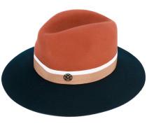 bi-colour felt hat - women - Baumwolle - S