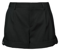 tailored fitted shorts