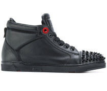 studded hi-top sneakers