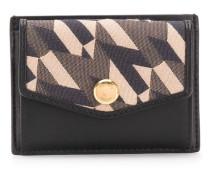 Portemonnaie mit geometrischem Print