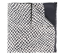 Schal mit abstrakten Quadraten