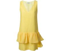 Kleid mit Rüschenapplikation