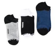 Set mit drei Paar Socken