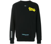 fire tape sweatshirt