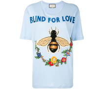 """T-Shirt mit """"Blind for Love""""-Schriftzug - women"""