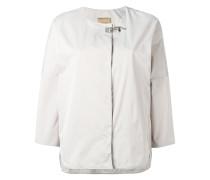 stylised buckle jacket