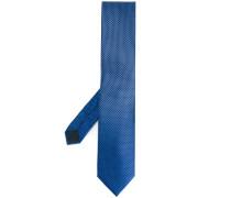 chequered tie