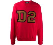"Sweatshirt mit ""D2""-Print"