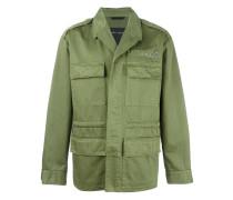 Military-Jacke mit Nieten - men - Baumwolle - 44