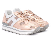 Sneakers im Metallic-Look - kids